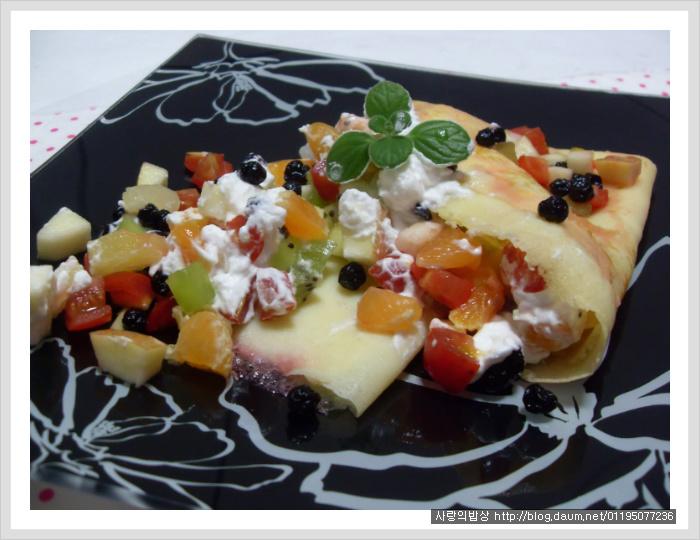 과일 크레페