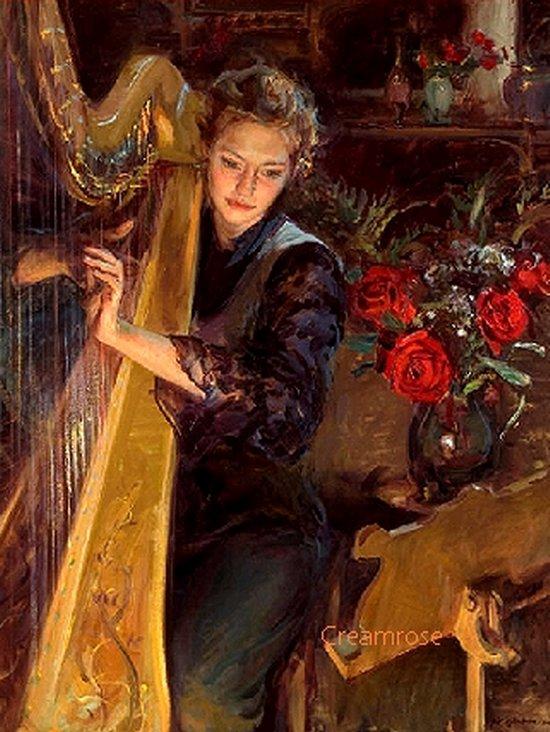 파헬벨 변주곡 / 하프와 바이올린