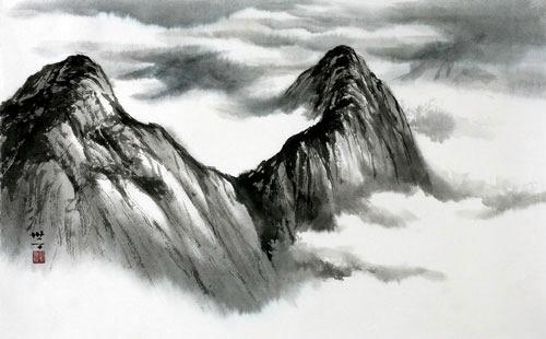 [동양화로 보는 중국 명산] 화산, 항산