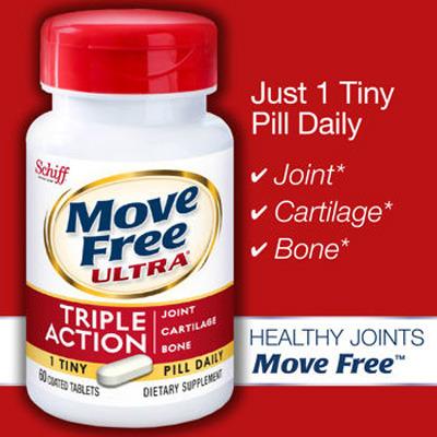 무브프리 울트라 관절건강 Move Free Ultra NewFormula Schiff 사