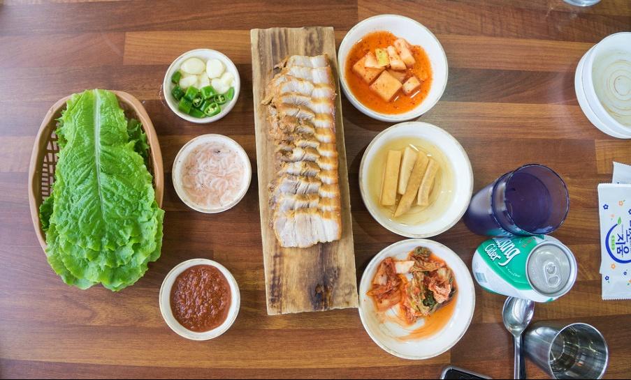 섭지코지 가시아방국수 고기국수/돔베고기 맛집